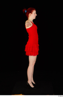 Vanessa Shelby red dress standing t poses whole body 0003.jpg